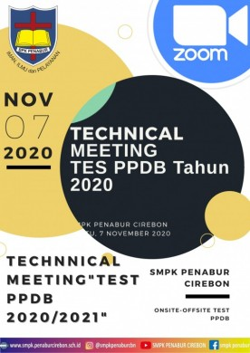 Technical Meeting Tes PPDB 2021 / 2022